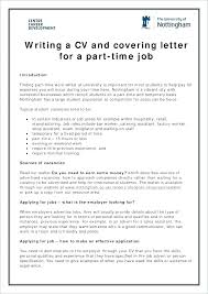 Application For Part Time Job Formal Letter Of Inquiry Samples