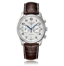 mens longines watches the watch gallery longines master collection white stainless steel automatic mens watch l26294783