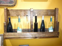 pallet wine rack instructions. Diy Pallet Shelves Looking Recycled Wood Wine Rack Shelf With Yellow Wall Color Idea . Instructions