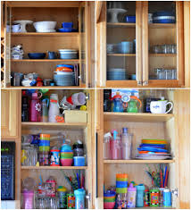 organizing kitchen cabinets image