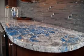lapi lazuli stone countertop for a wet bar in new jersey