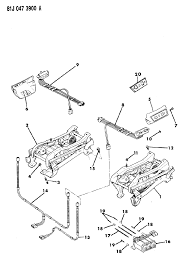 1985 jeep cherokee seat track diagram 000004f4