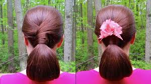 Chingon Hair Style relaxing chignon hairstyle tutorial for long hair natural 6327 by wearticles.com