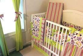 green and pink nursery bedding purple complete set brown paisley baby