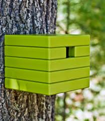 Birdhouse Plastic Birdhouse Made From Recycled Materials Loll Designs