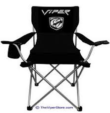 dodge viper office chair. Includes Stryker Viper Vinyl Logo On Front And Rear As Shown. Cup Holder. Size Will Vary. Great For Camping Or Car Shows. Dodge Office Chair