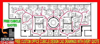 hm 892 custom cad office cubicle design free with every quote cad office space layout