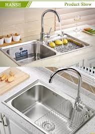 K Esr12050k Double Bowl Stainless Steel Sink With Drainboard 1200mm