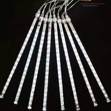 Bộ đèn led sao băng 8 ống 50cm các màu điện 220v ĐỦ MÀU   Nông Trại Vui Vẻ  - Shop