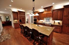 hardwood floors in kitchen and rugs