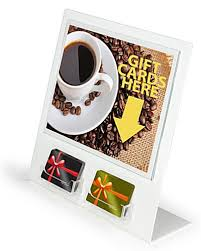 Gift Card Display Stand Gift Card Display 100 Gift Card Slots 2