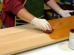 просочення деревини маслом