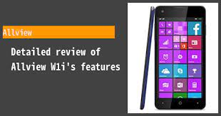 Allview W1i - Features and reviews ...