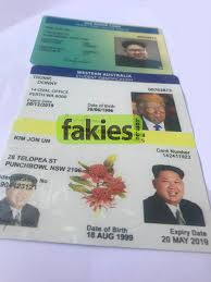 - Inc Novelty 'fake Buy Id' Just Shipping 79 Australia For Fakies A