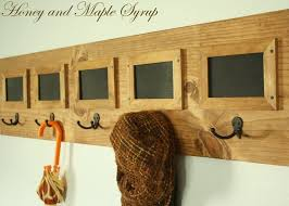 Easy Coat Rack DIY Coat Rack Message Board Home Decor Mostly DIY Pinterest 51
