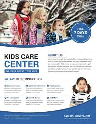 Kind Child Care Flyer Template