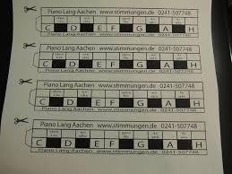 Anhand der klaviertastatur die verschiedenen töne kennenlernen und das mit einem klavier/einem glockenspiel ausprobieren klaviertastatur 2. Downloads Piano Lang Aachen