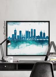 Small Picture 95 best Minimal skyline posters images on Pinterest City print
