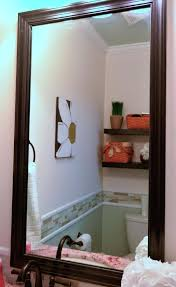 reframe mirror how to frame a mirror in 5 steps reframe old mirror reframing mirrored closet