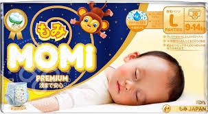 Купить <b>Подгузники</b>-<b>трусики Momi Premium</b> Night <b>L</b> 9-14кг 30шт с ...