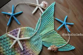 Crochet Mermaid Tail Pattern Free Magnificent Crochet Mermaid Tail Blankets Props For Kids Adults