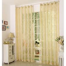 appealing yellow sheer curtains and pale yellow polyester fabric sheer curtains with patterns