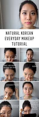 best korean makeup tutorials natural korean everyday makeup tutorial giwon natural step by step