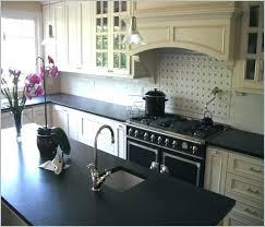 black quartz countertops honed granite with sparkle white shaker cabinets