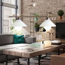Büro Schreibwaren Pendel Decken Leuchte Wohn Zimmer Glas