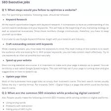 Common Marketing Interview Questions What Are The Most Important Asked Interview Advance Seo