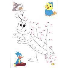 Sách - Bé nối số và tô màu theo chủ đề