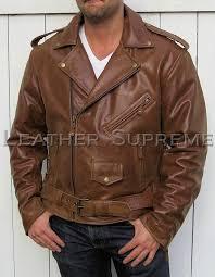 men fashion balmain retro rivet motorcycle leather embossed jackets