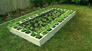 concrete block garden cinder block raised garden bed raised garden bed garden designs raised bed ideas