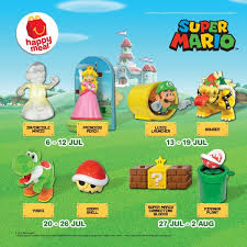 mcdonald s msia is having their super mario happy meal toys giveaway e and collect 8 toys with every happy meal for hours of fun and many more