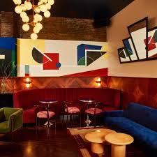 bar interiors design. Beautiful Design Camilla Deterre Blends 20thcentury Design Styles At Primou0027s Bar In Tribeca To Bar Interiors Design K