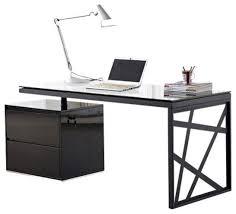 modern office desks furniture. wonderful modern ju0026m furniture kd01 modern office desk in black contemporarydesks andhutches on desks t