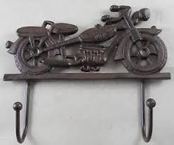 Harley Davidson Coat Rack Cast Iron Motorcycle Coat Rack Garage Hooks Harley Davidson Look Key 32