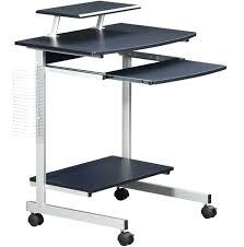 portable laptop cart rolling table desk impressive mobile computer home cal work station new