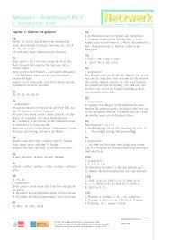 In marlenes unterricht gibt es viel pantomime. Pdf Netzwerk Arbeitsbuch A2 2 Losungsschlussel Alex Bbb Academia Edu