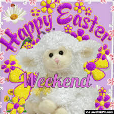 Image result for Happy Easter Weekend animation