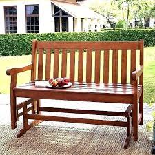 outdoor glider bench costco porch bench glider eucalyptus 4 garden patio glider bench view images outdoor
