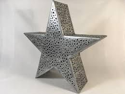 Astari Windlicht Teelicht Stern Metall Laterne