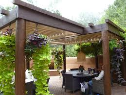 Alluring Backyard Pergola With Pergola Covers For Patio Cover Ideas