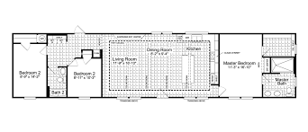 18 ft wide house plans luxury the santa fe ff g manufactured home floor plan or