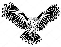 Disegni Gufo Per Tatuaggi Uccello Del Gufo Per Mascotte O