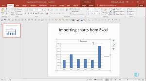 Importing Charts From Excel Online Powerpoint Training