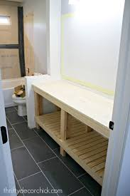 building a bathroom vanity. How To Build And Stain A DIY Bathroom Vanity Building