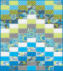 New Fabric: Blue Lagoon & Free Quilt Pattern - Fabric Editions Blog & BlueLagoonQuilt_Photo2 Adamdwight.com