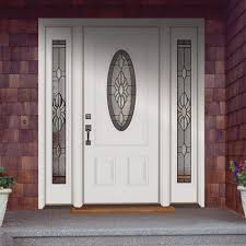 white single front doors.  Front Prehung Steel Security Front Door With White Single Doors I