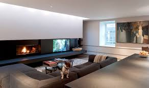 Kitchen And Living Room Mclean Quinlan Architects Bayswater London Mews Roof Kitchen